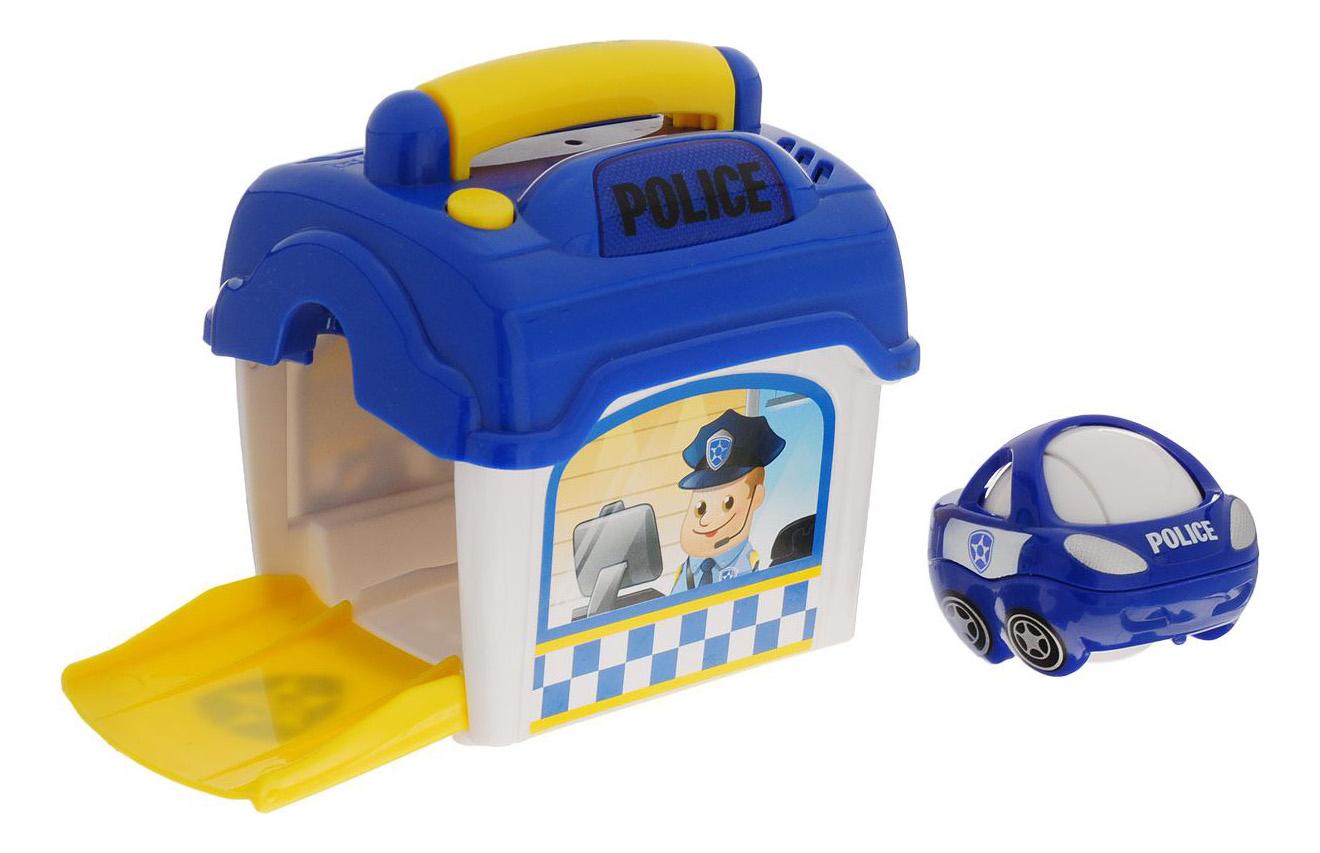 Игровой набор Playgo Полицейский участок с машинкой