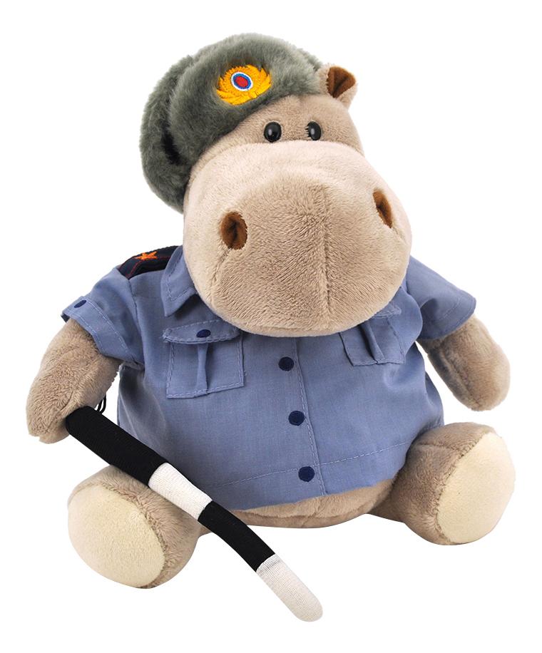 Купить Мягкая игрушка Orange Toys Бегемот полицейский 20 см см МА2640/20J, Мягкие игрушки животные