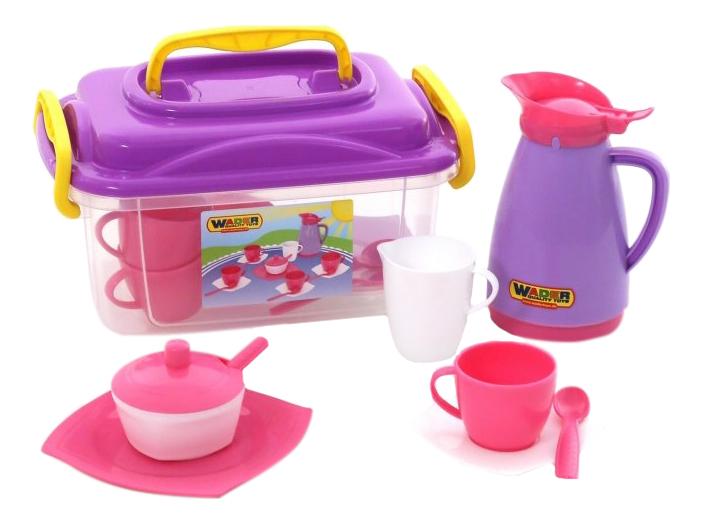 Набор детской посуды Полестье Wader Алиса 53480