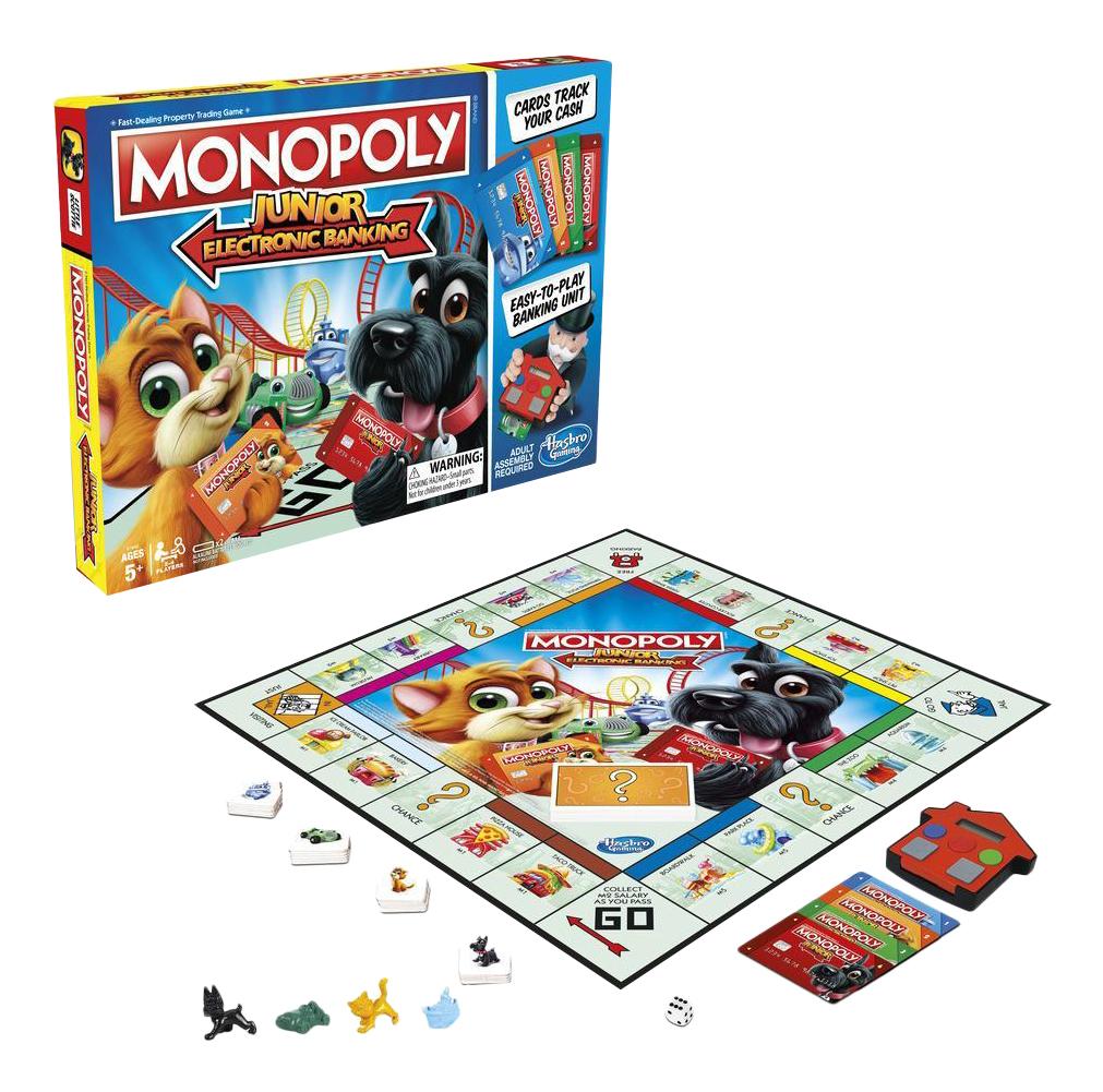 Экономическая настольная игра Hasbro Gaming Монополия Джуниор