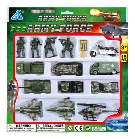 Набор военной техники и солдатиков Army Force Gratwest А85829 фото
