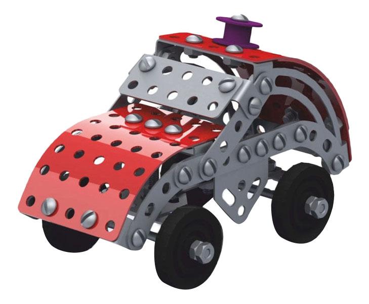 Конструктор металлический Машинка Десятое королевство