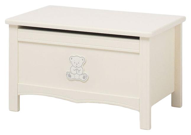 Купить Ящик для игрушек Erbesi Incanto Слоновая кость, Ящики для хранения игрушек