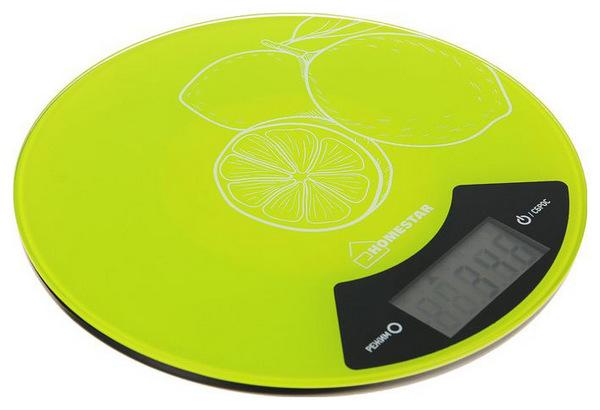 Весы кухонные Homestar HS-3007 Lime