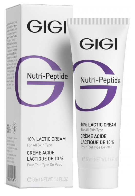 Крем для лица GIGI Nutri-Peptide 10% Lactic Cream 50 мл фото