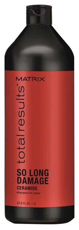 Купить Шампунь Matrix Total results So Long Damage с керамидами, 1000 мл, So Long Damage Shampoo