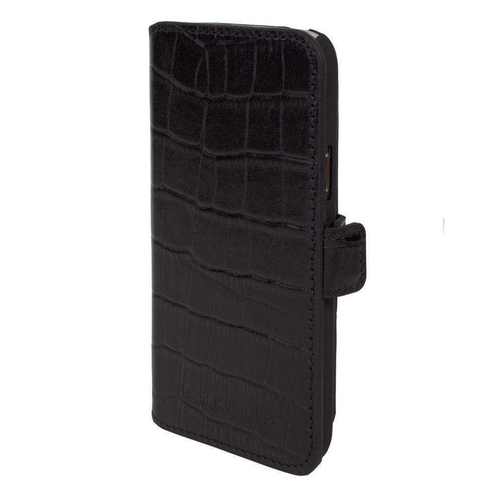 Кожаный чехол-книжка Bouletta (Портмоне) Черный-K1 для Samsung Galaxy S5 Mini, Bouletta