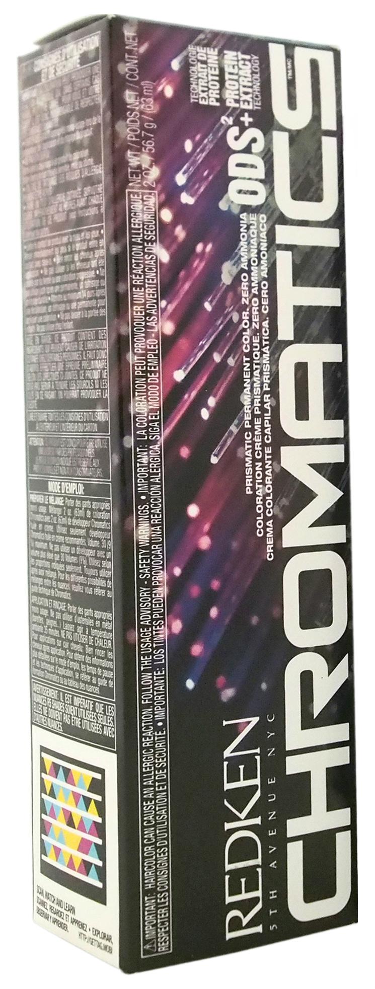 Краска для волос Redken Chromatics Prismatic 8.43 Медный/Золотистый 60 мл