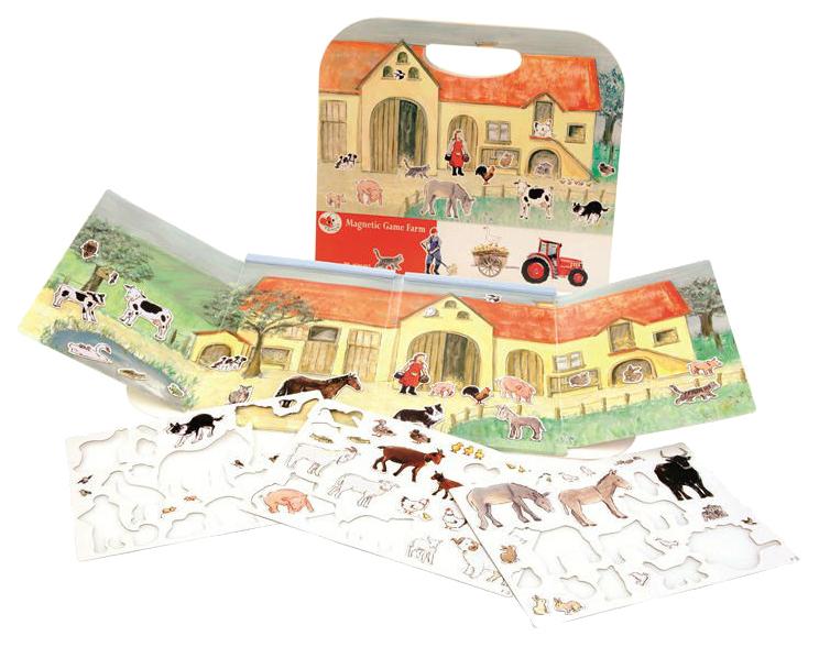Купить Магнитная игра Egmont Toys Ферма, Семейные настольные игры