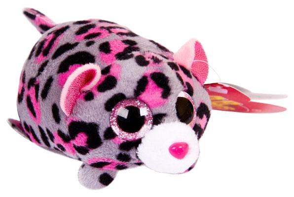 Купить Мягкая игрушка ABtoys Леопард серый, 10 см, Мягкие игрушки животные