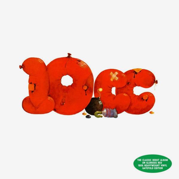 Виниловая пластинка 10cc 10CC (180 Gram/Red vinyl/W330), Not Bad Records  - купить со скидкой