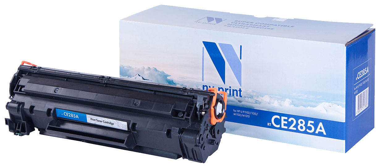 Картридж для лазерного принтера NV Print CE285A, черный NV-CE285A