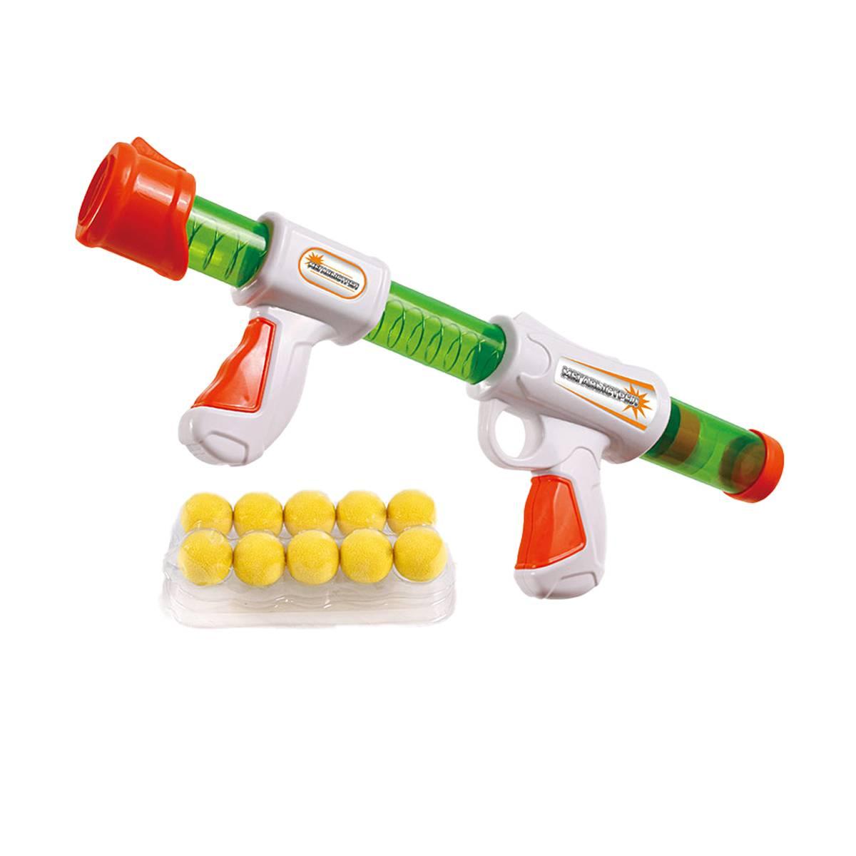 Купить Ружье игрушечное PLAYSMART Мегавыстрел 0159, Наборы игрушечного оружия