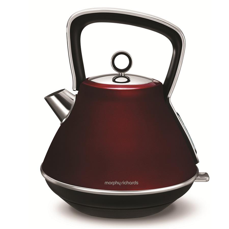 Чайник электрический Morphy Richards Evoke Pyramid Red 100108EE фото