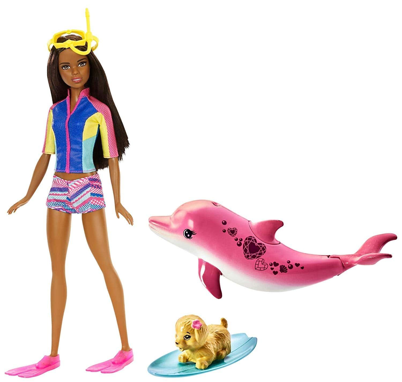 Кукла Barbie Барби и Волшебные дельфины FMP57