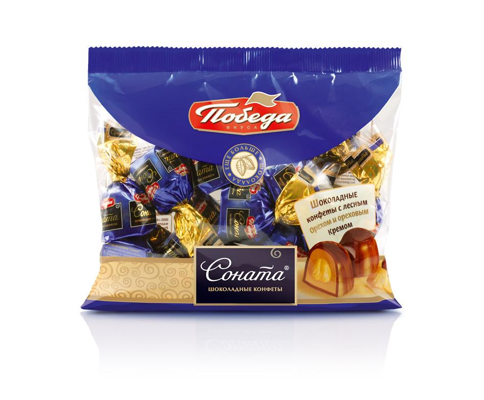 Конфеты шоколадные Победа Вкуса соната фото