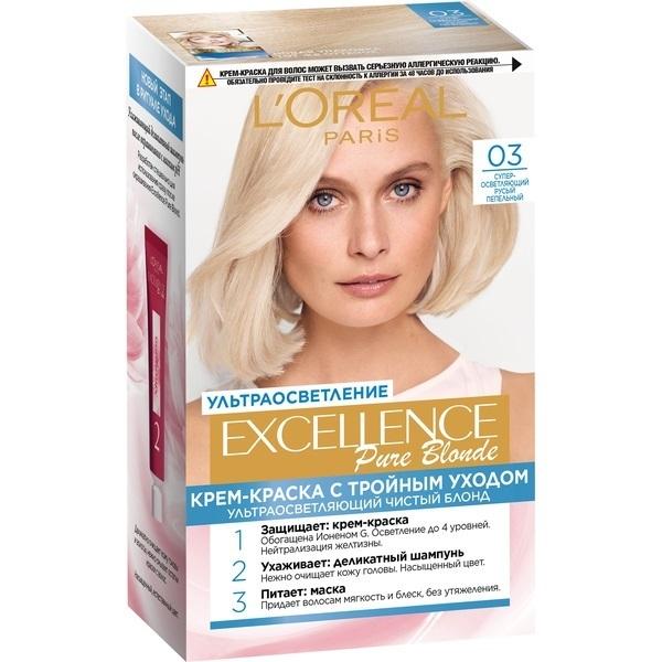 Крем-краска для волос L\'Oreal Excellence стойкая тон 03 \