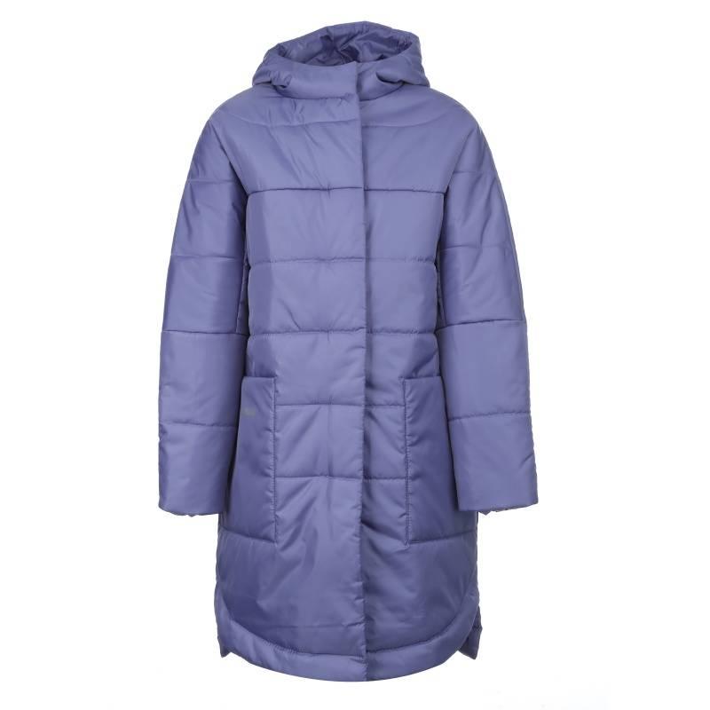 Купить 641, Пальто Жаклин Emson, цв. фиолетовый, 140 р-р, Пальто для девочек