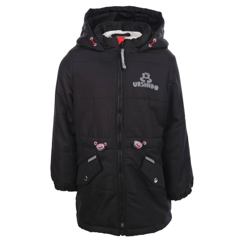 Купить Дд-0415, Куртка Мышка URSINDO, цв. черный, 122 р-р, Куртки для девочек
