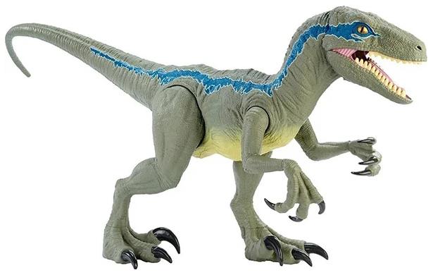 Купить Фигурка Jurassic World Mattel Колоссальный велоцираптор Блю, Игровые фигурки
