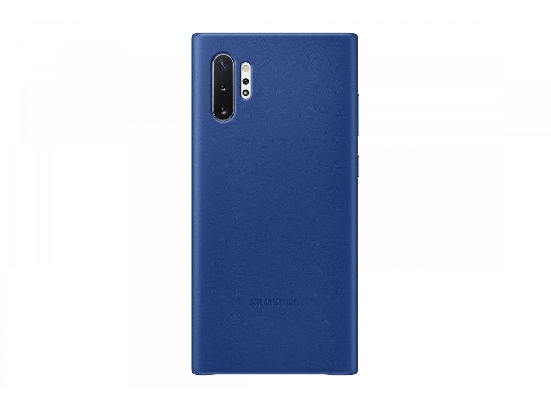 Чехол Samsung EF-VN975LLEGRU, Leather Cover для Note 10+, Blue  - купить со скидкой