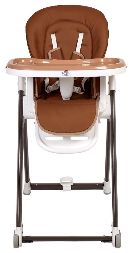 Стульчик для кормления Polini kids 440 коричневый