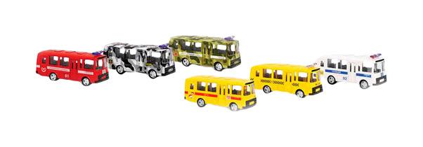 Купить Игровой набор Playsmart Автопарк Автобус 6563, Наборы игрушечного транспорта