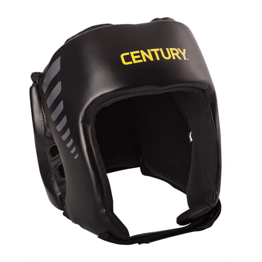 Шлем открытый Century черно серый