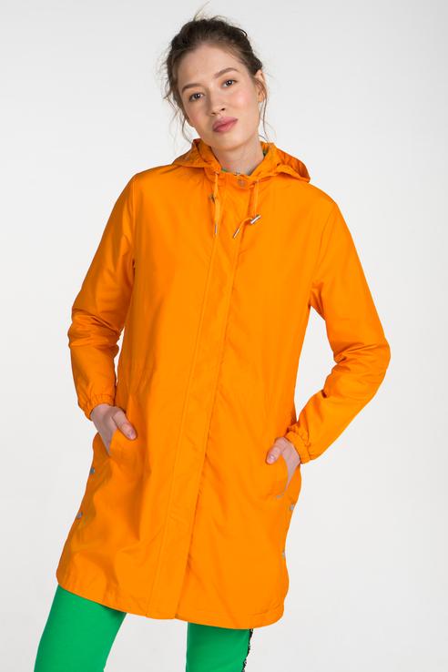 Дождевик женский b.young 20805153 оранжевый 40 EU