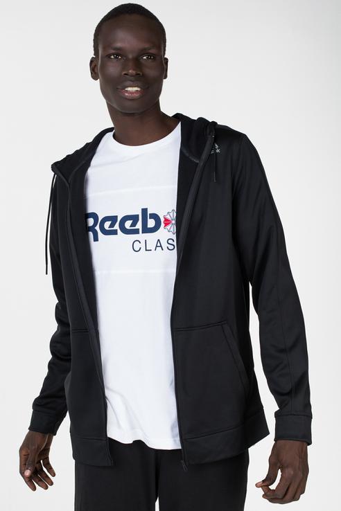 Толстовка мужской Reebok CE0652 черный 50 UK