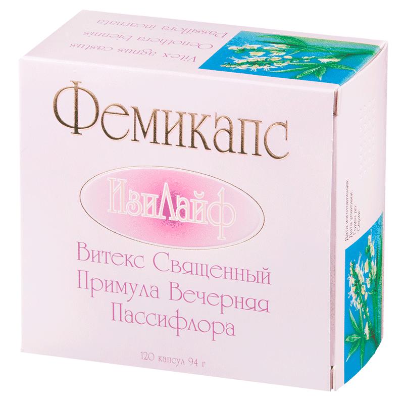 Фемикапс Изи Лайф капсулы 784 мг 120 шт.