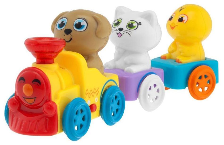 Интерактивная игрушка Chicco Музыкальный поезд