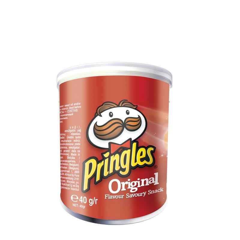 Чипсы Pringles original 40 г фото