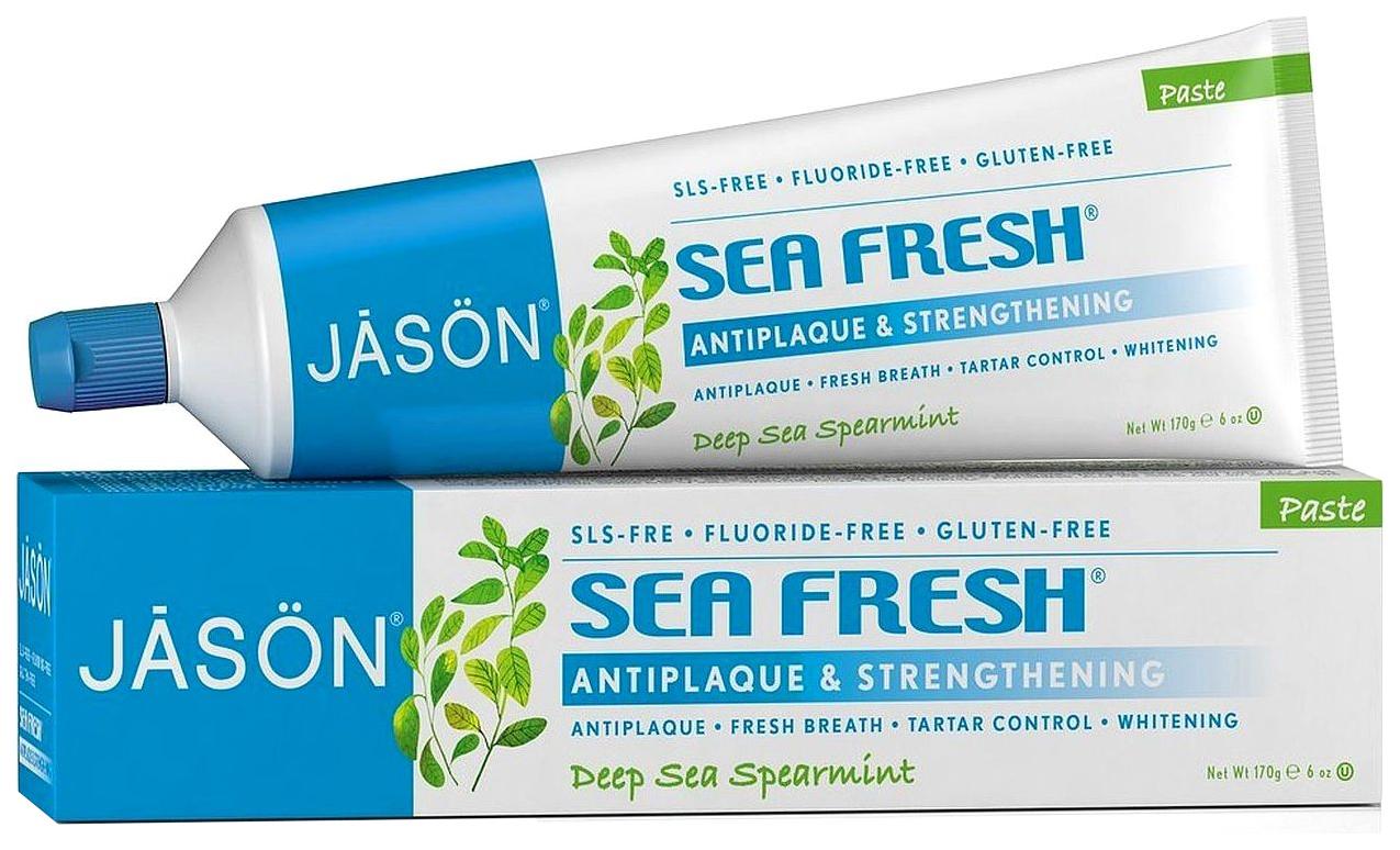Купить Зубная паста Jāsön Sea Fresh Strengthening Toothpaste 170 мл, JASON