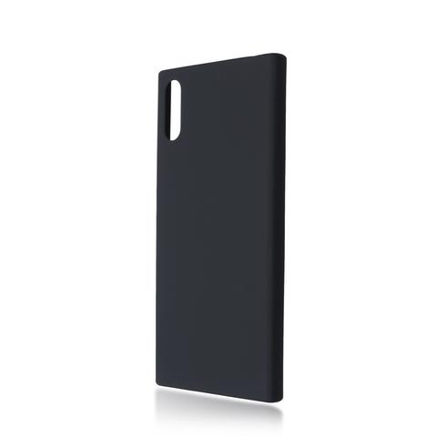 Четырёхсторонняя накладка Brosco Soft-touch для Sony Xperia XZ, черная
