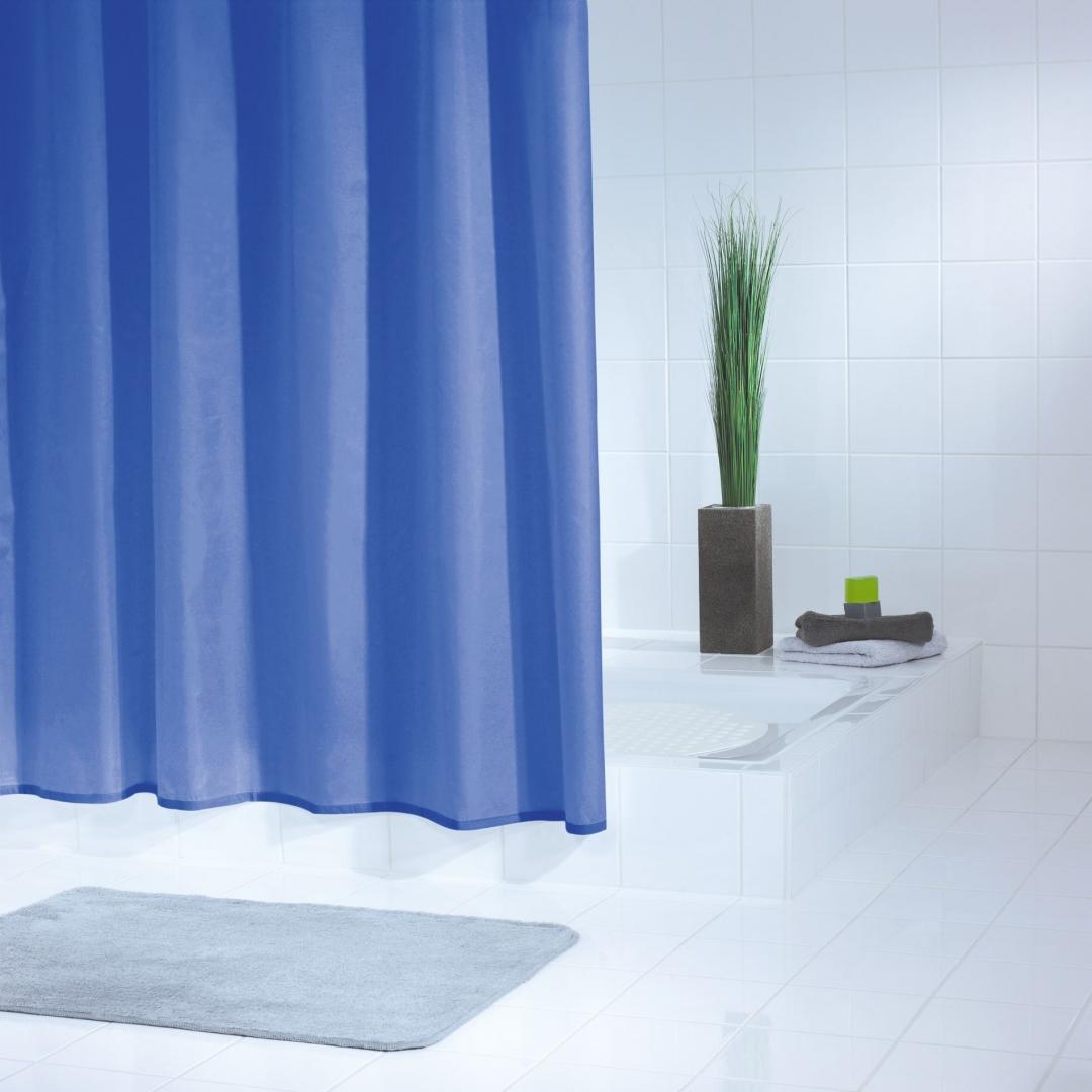 Штора для ванных комнат Standard синий/голубой 180*200