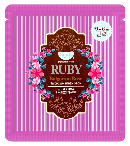 Маска для лица Koelf Ruby #and# Bulgarian Rose Hydrogel Mask Pack 30 г