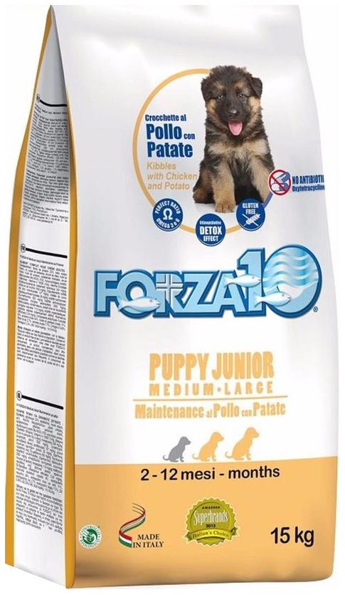 Сухой корм для щенков Forza10 Puppy Junior
