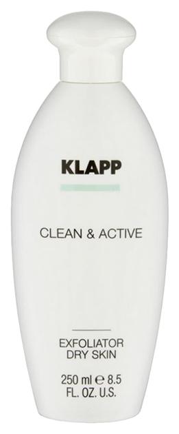 Купить Тоник для лица Klapp Clean & Active Эксфолиатор для сухой кожи 250 мл