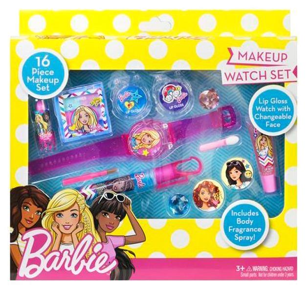 Игровой набор детской косметики Markwins Barbie 9803351