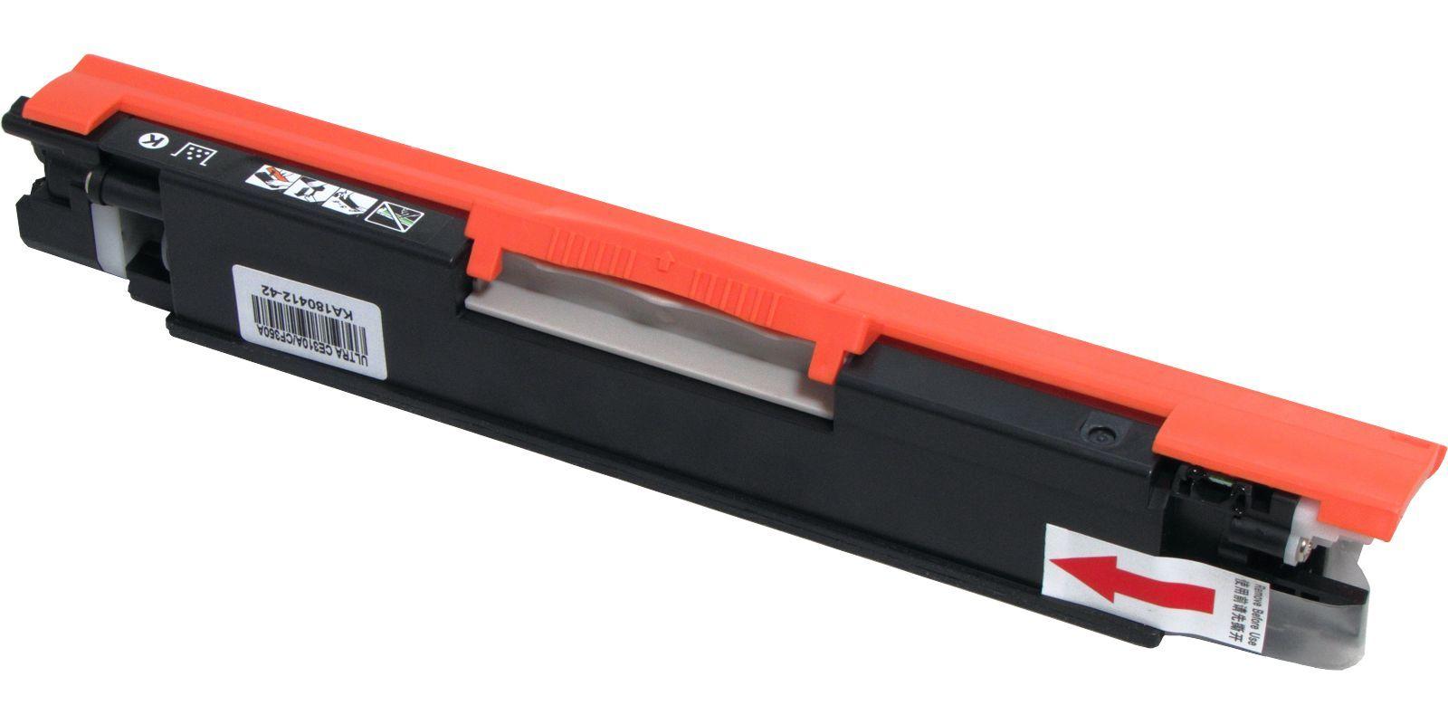 Картридж лазерный цветной MAK© №126A/130A Universal CE312A/CF352A желтый  1000 стр для HP