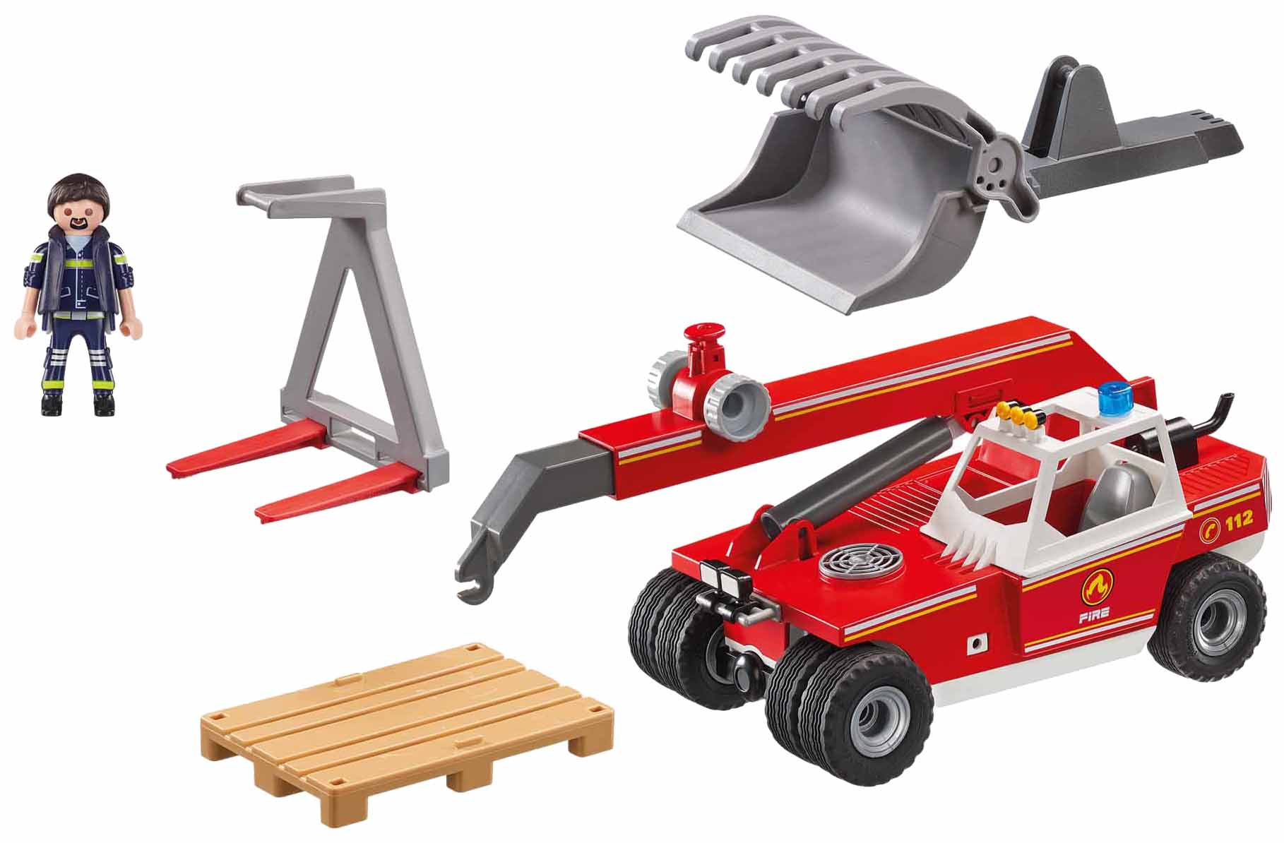 Купить Игровой набор Playmobil Пожарная служба: Пожарный Кран, Игровые наборы