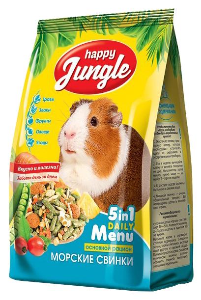 Корм для морских свинок Happy Jungle витаминизированный
