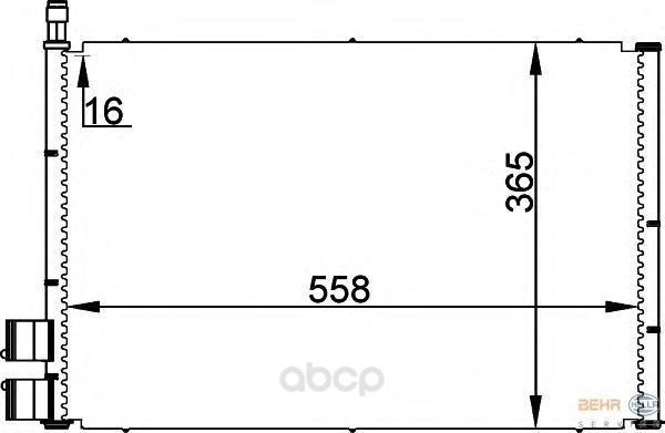 Компрессор кондиционера автомобильный HELLA 8FC351300351