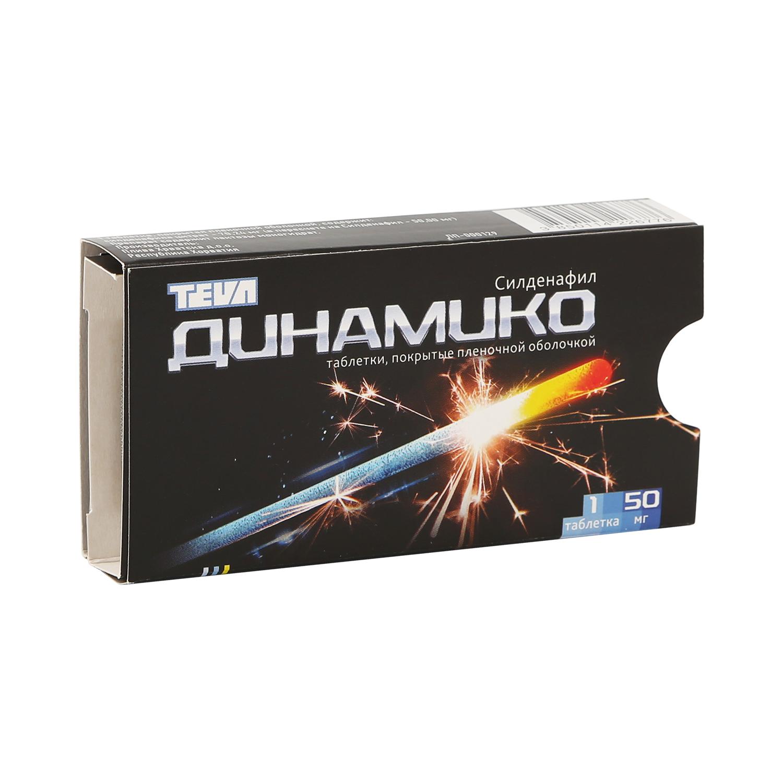 Динамико таблетки 50 мг