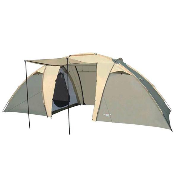 Палатка Campack-Tent Travel Voyager шестиместная зеленая/коричневая