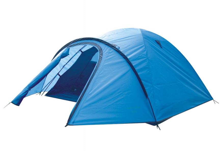 Палатка Green Glade Nida трехместная голубая