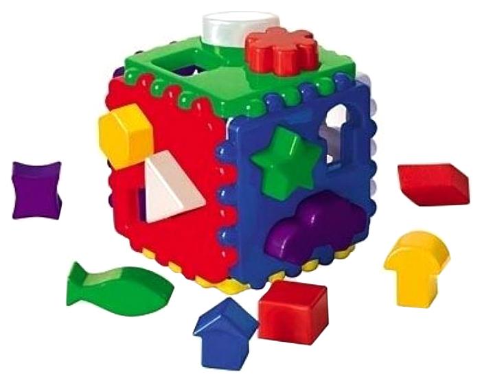 Игрушка Рыжий кот Логический куб большой И-3929
