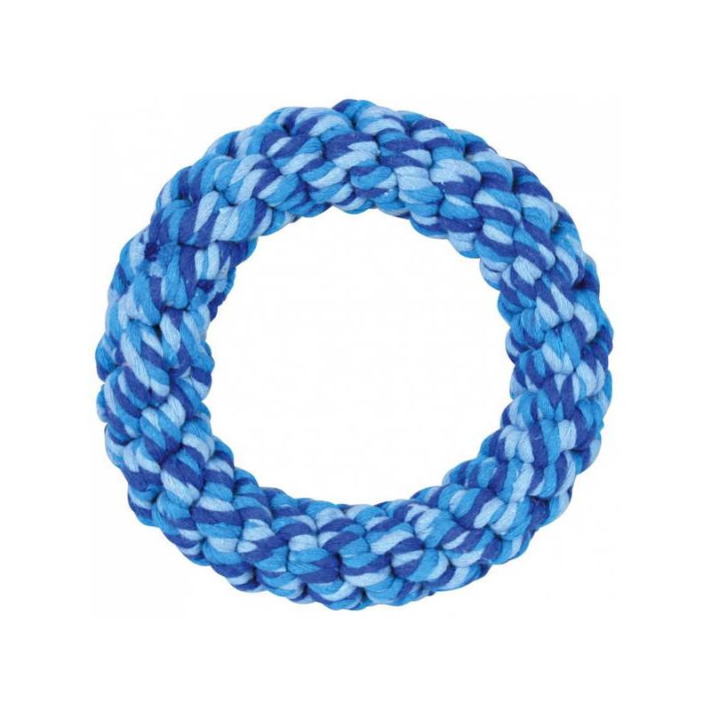 Жевательная игрушка для собак TRIXIE Кольцо плетеное, в ассортименте, 14 см