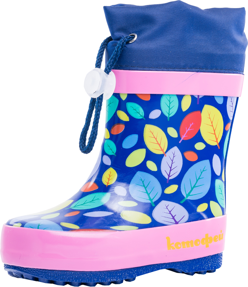 Купить Резиновая обувь для девочек Котофей р.21, 166092-11 весна-осень, Резиновые сапоги детские